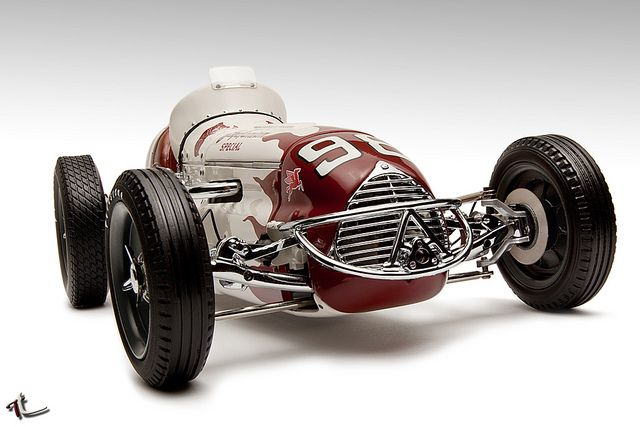 Agajanian Special Race Car indy 500 winner 1952