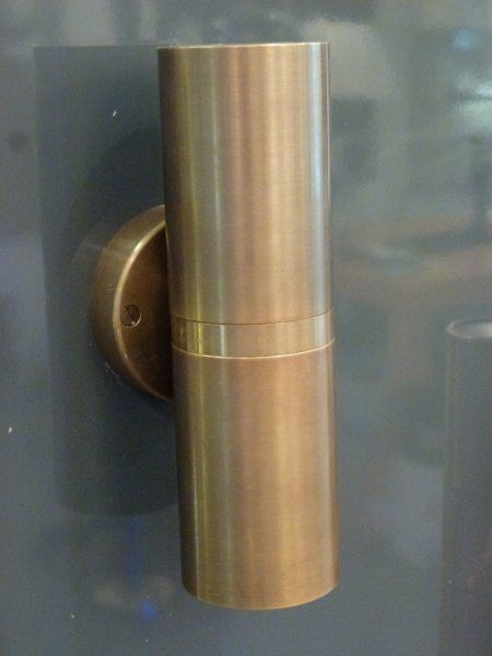 Lumina8001 Aged Bronze Up/Down wall light - Price: $429.00 AUD