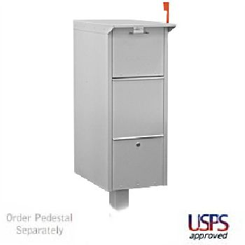Large Lockable Mailbox or Parcel Drop Box Locking Parcel Drop Boxes Enjoy $9.95 ground shipping per item ordered in the 48 contiguous United States!