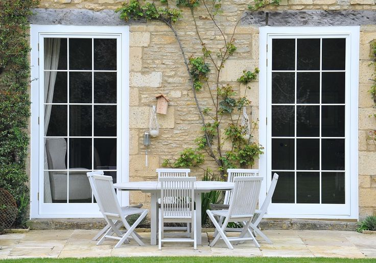 Timber doors manufactured and installed by The Sash Window Workshop