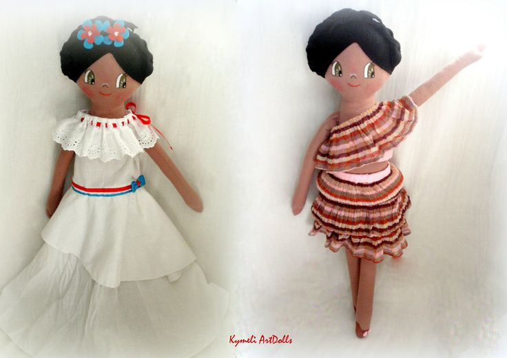 Cuban girl ... Doll for Play - 50cm by Kymeli