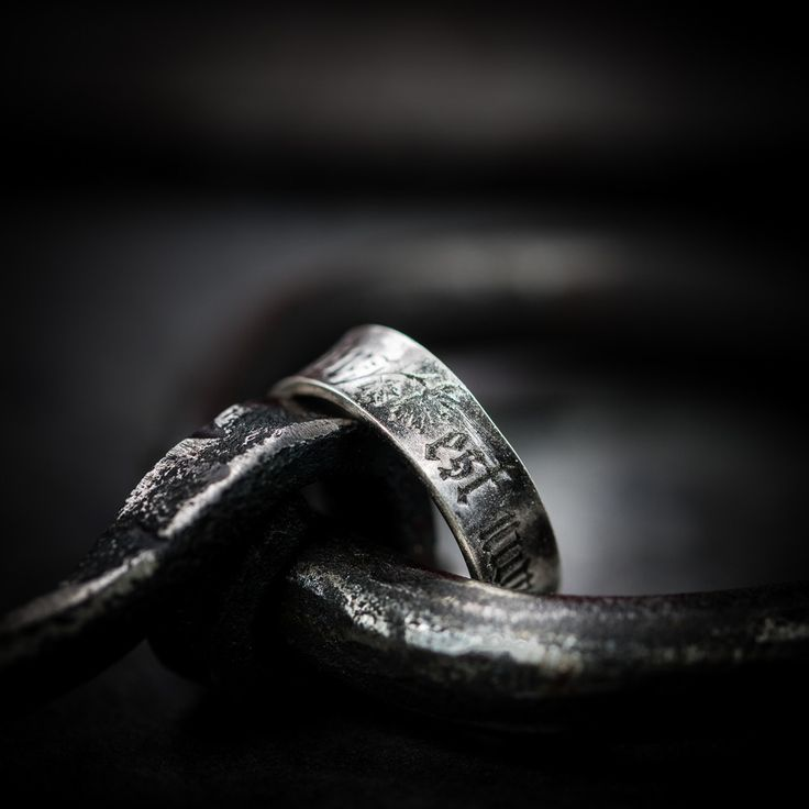 """Romantic posy ring from the 14th century arrived from production workshop much earlier than we expected😀It is engraved with words of love in old French. Meaning of engraving is """"my whole heart"""" from one side and """"is my desire"""" on another💘 Original which inspired us: https://www.artfund.org/supporting-museums/art-weve-helped-buy/artwork/9884/posy-rings-medieval.html #medieval #romantic #ring #giftoflove #gothic #feelmedieval"""