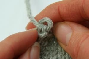 A neater final bind-off stitch