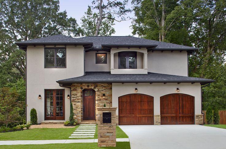 A new mediterranean inspired home in atlanta 39 s virginia for Garage builders atlanta