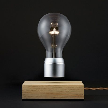 FLYTE is a levitating light that hovers by magnetic levitation and is powered through the air. With FLYTE, the light bulb has been set free, and illumination, design, and art have been revolutionized. Choose from your favorite color combination, and own a piece of glowing artwork that will amplify the atmosphere in any space.