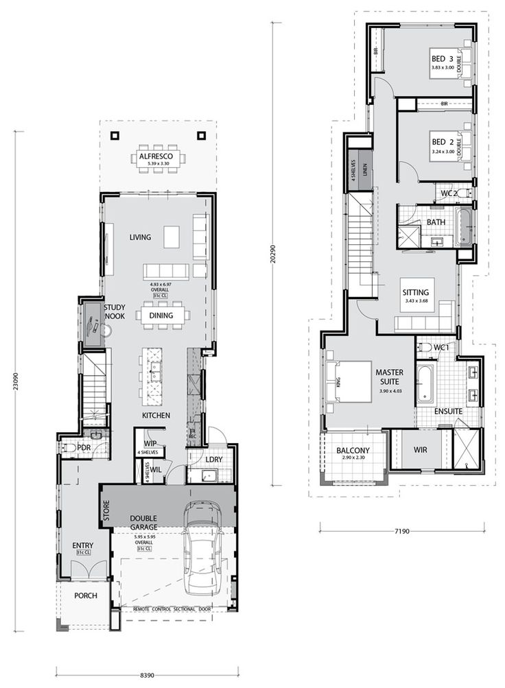 Horizon Key Features: gourmet kitchen with breakfast bar open plan dining with living and kitchen spacious living area seamlessly joins to the alfresco cloak room all bedrooms upstairs master suite with large ensuite spacious walk in robe with private balcony large additional living room upstairs