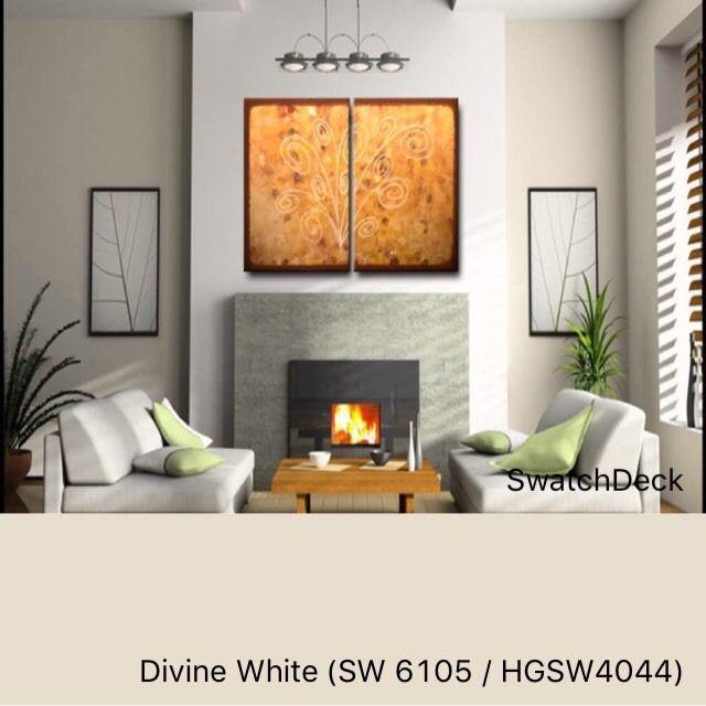 Divine White SW 6105 HGSW4044 Sherwin-Williams