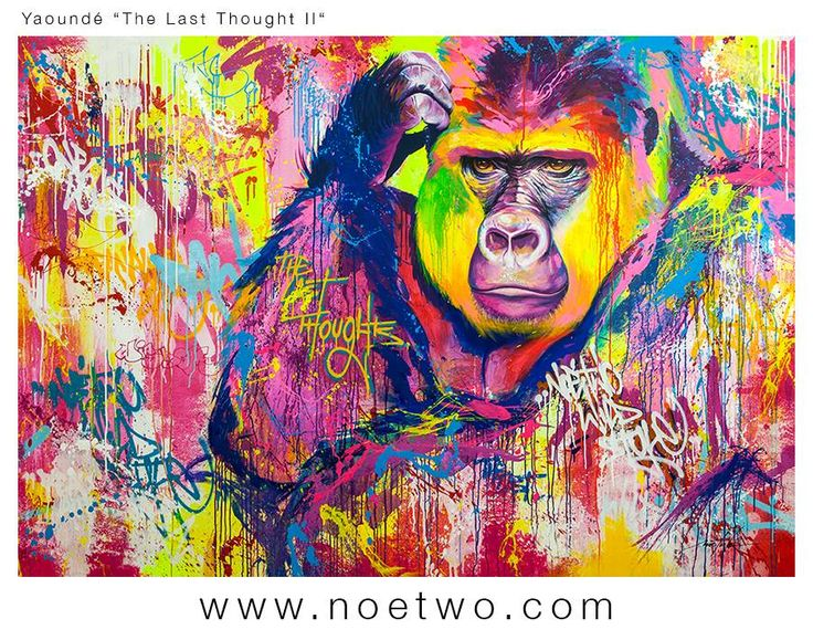 """YAOUNDE """"The Last Thought II"""" by NOE TWO www.noetwo.com"""