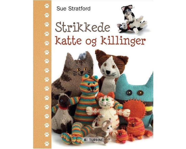 Strikkede katte og killinger af Sue Stratford - Strikkepinden.com