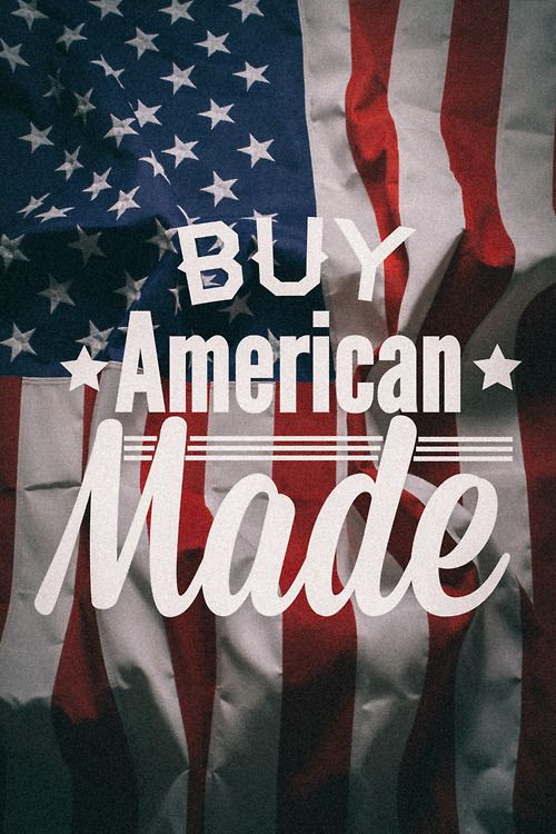 Please Always Consider Buying American Made - Supporting USA Manufactured Goods is the future of our country, our children and our communities !