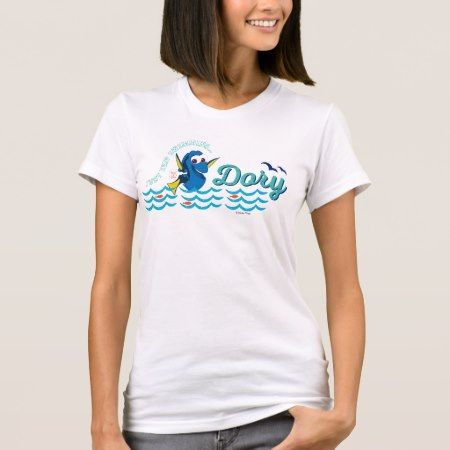 Dory | Just Keep Swimming T-Shirt - click/tap to personalize and buy