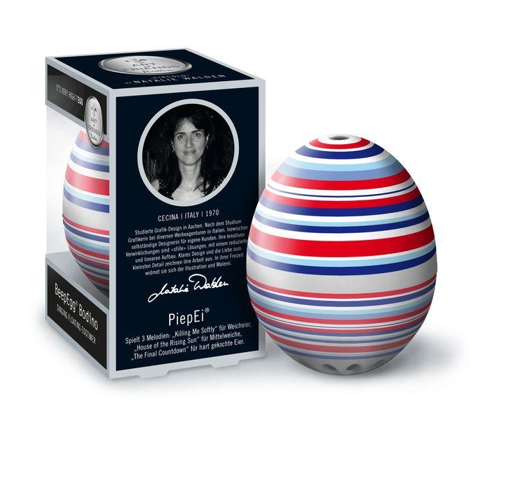 #Minutnik do gotowania jajek - #BeepEgg Bodino by Walden - #Decosalon #design #dizajn #eggs #egg #easter #wielkanoc #brainstream