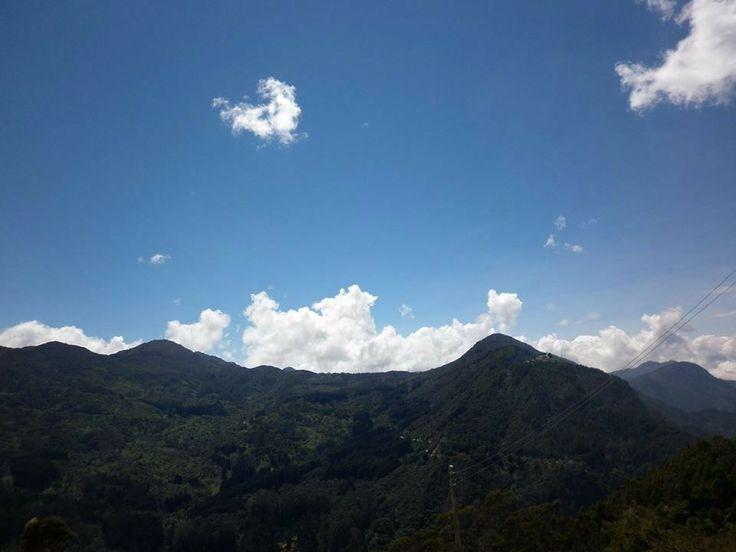 Cerro de Monserrate Bogotá, Colombia.