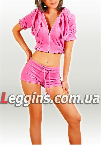 Велюровые спортивные костюмы с шортами