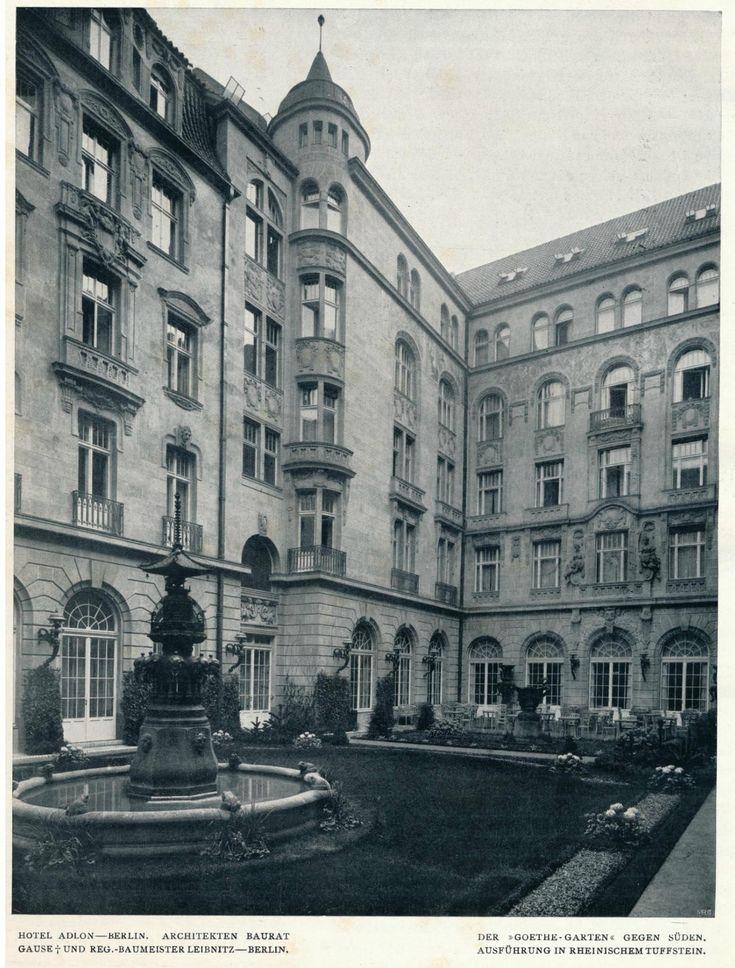 https://flic.kr/p/ycy5K1 | Innendecoration 1908 Berlin Hotel Adlon  d | de.wikipedia.org/wiki/Hotel_Adlon