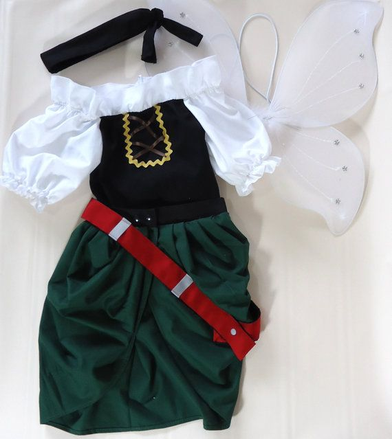 Zarina the Pirate Fairy  Fairy Costume  Captain by LoopsyBaby, $40.00