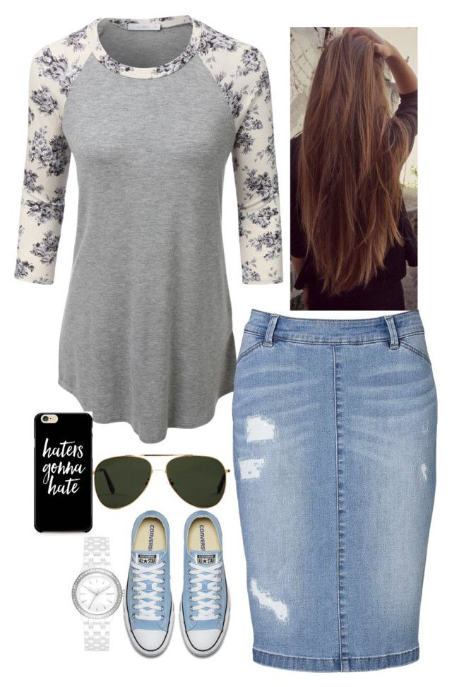 """Untitled #272"" by faythe2230 ❤ liked on Polyvore featuring LE3NO, Witchery, Oliver Goldsmith and DKNY"
