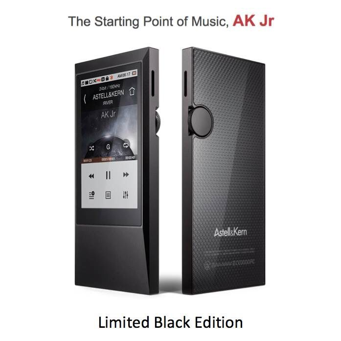 #AstellnKern #AKJr #DAP #MQS #HiResAudio #Limited #Black