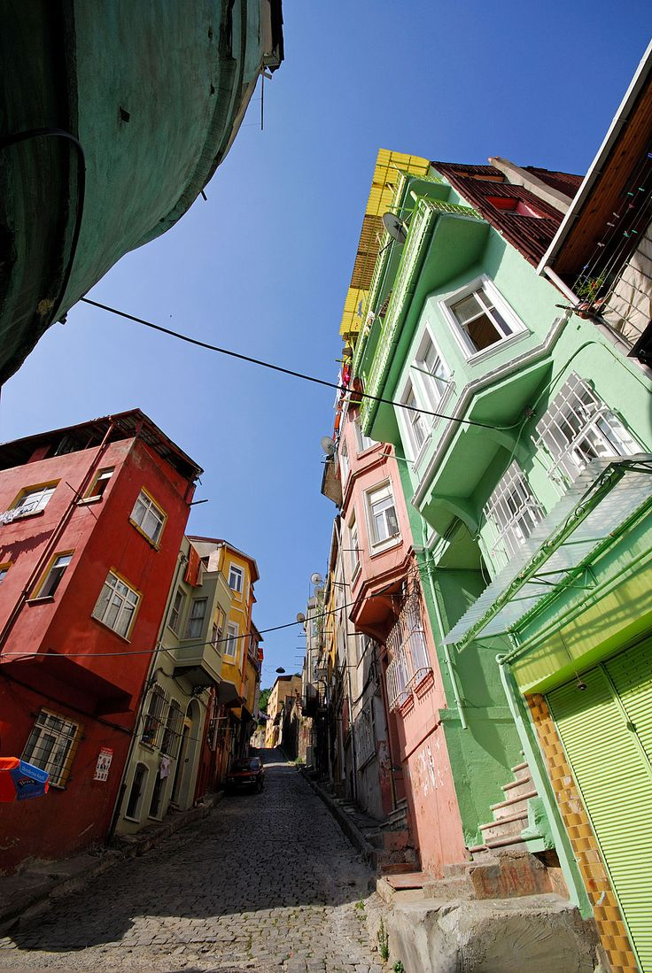 Balat, Istanbul, Jewish District #colorful #İstanbul #besthospitality#İstanbul #besthospitality