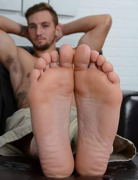 Men foot worship