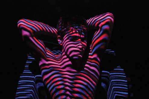 Phoblography.: Experimental Photography - Projector and Light painting.