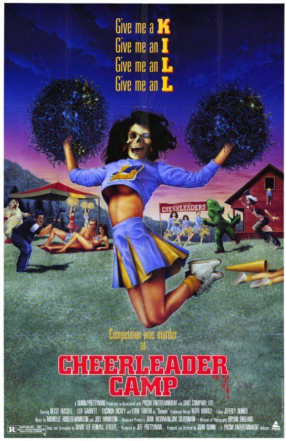 Cheerleader Camp 11x17 Movie Poster (1987)
