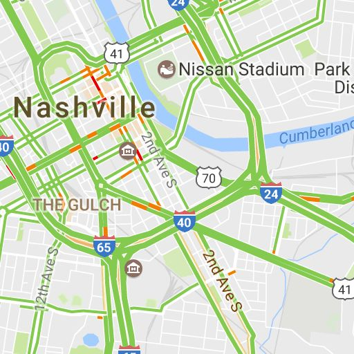 Nashville, TN Road Conditions with Driving and Traffic Flow - LocalConditions.com