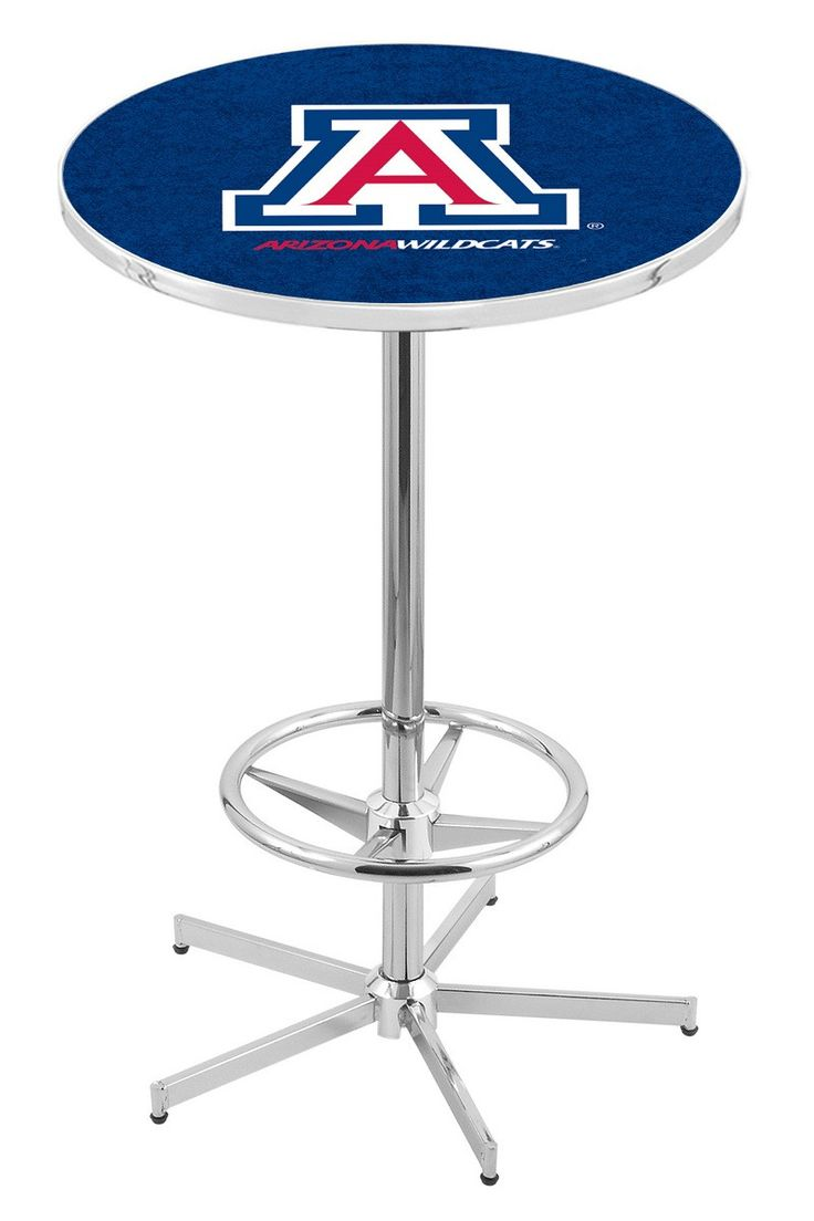 Arizona Wildcats Pub Table with Retro Base - University of Arizona