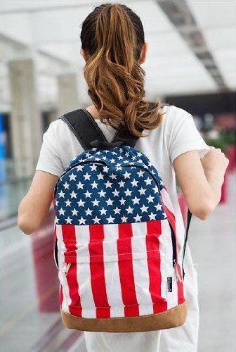 $7.90 (Buy here: https://alitems.com/g/1e8d114494ebda23ff8b16525dc3e8/?i=5&ulp=https%3A%2F%2Fwww.aliexpress.com%2Fitem%2FWomens-Mens-School-Book-Campus-Bag-Backpack-Satchel-US-Flag-Pattern%2F32704350964.html ) Womens Mens School Book Campus Bag Backpack Satchel US Flag Pattern for just $7.90