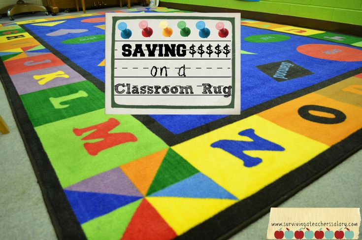 Have you seen these classroom rugs that aren't $500?????? Check them out now!