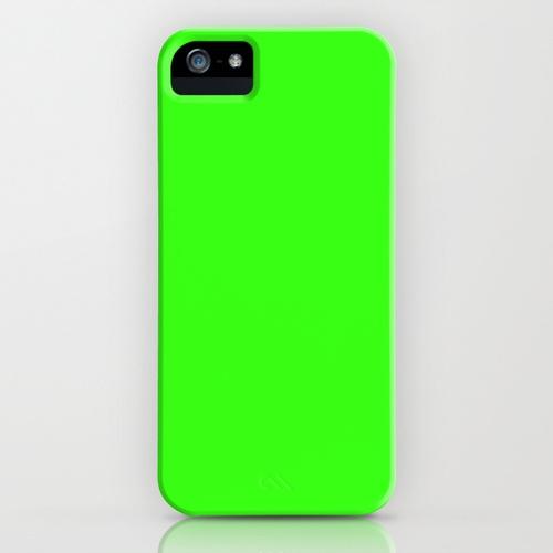 Neon Green iPhone Case ☻ ⇜•ṄεΦЙ❉€яᗛƶΣ•⇝