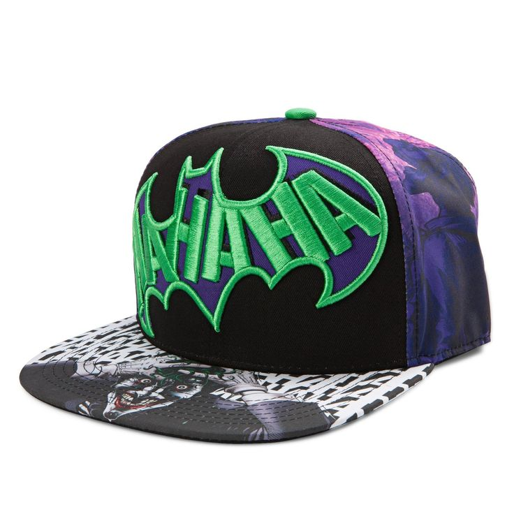Amazon.com: The Joker Dye Sublimated Snapback Hat: Clothing