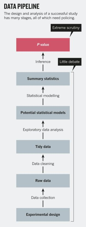 Statistics: P values are just the tip of the iceberg : Nature News & Comment
