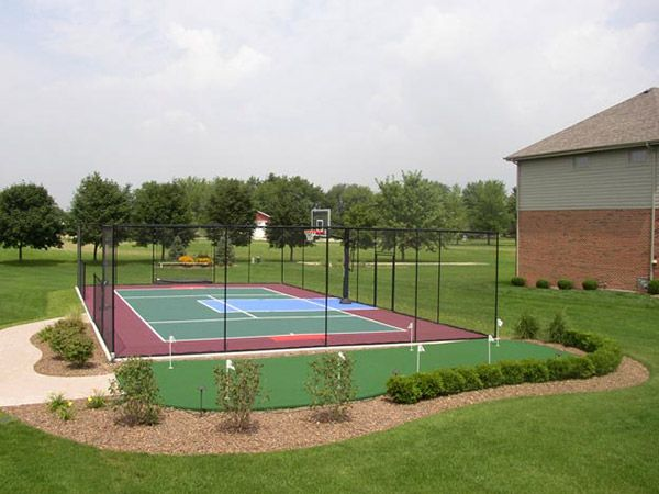 Missouri Backyard Basketball Multi Sport Game Courts