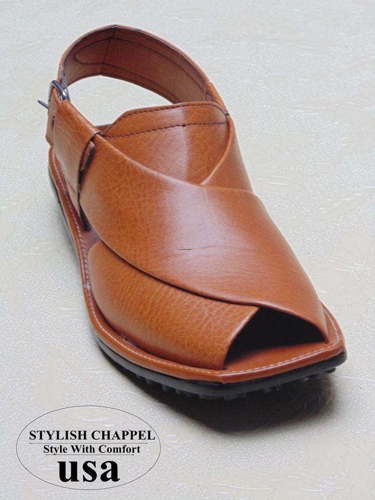 Us 7,8,9,10.11 men's handmade ceremal leather peshawri chappel