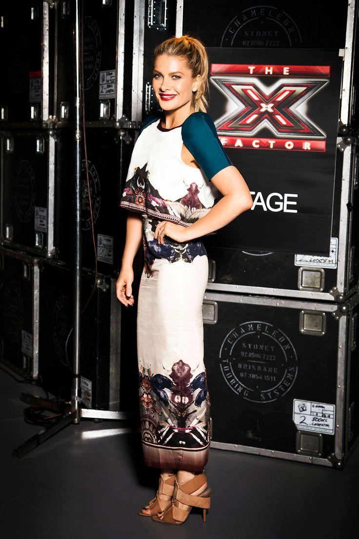 Natalie Bassingthwaighte on The X Factor Australia 2014.