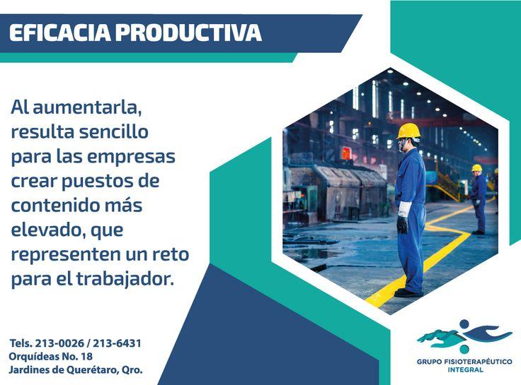 """Un adecuado entorno laboral, potencializa las capacidades de los #trabajadores. #Ergonomía con #GrupoFI """"Salud integral sólo en nuestras manos""""."""