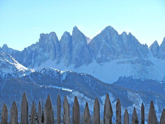Blick auf die Dolomiten in Brixen-Plose: http://www.schneehoehen.de/skigebiete/info/plose