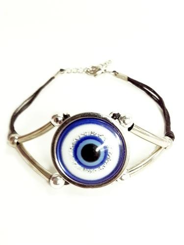 Evil Eye giant flat eye bracelet
