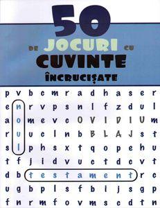 50 de jocuri cu cuvinte încrucișate - Noul Testament de Ovidiu Blaj - Această culegere conține 50 de careuri cu cuvinte încrucișate. În total sunt 1250 de cuvinte din Biblie, din Noul Testament, pe care cel ce rezolvă careurile trebuie să le ca... - http://www.carti-duhovnicesti.ro/ovidiu-blaj-50-de-jocuri-cu-cuvinte-incrucisate-noul-testament-p-921.html