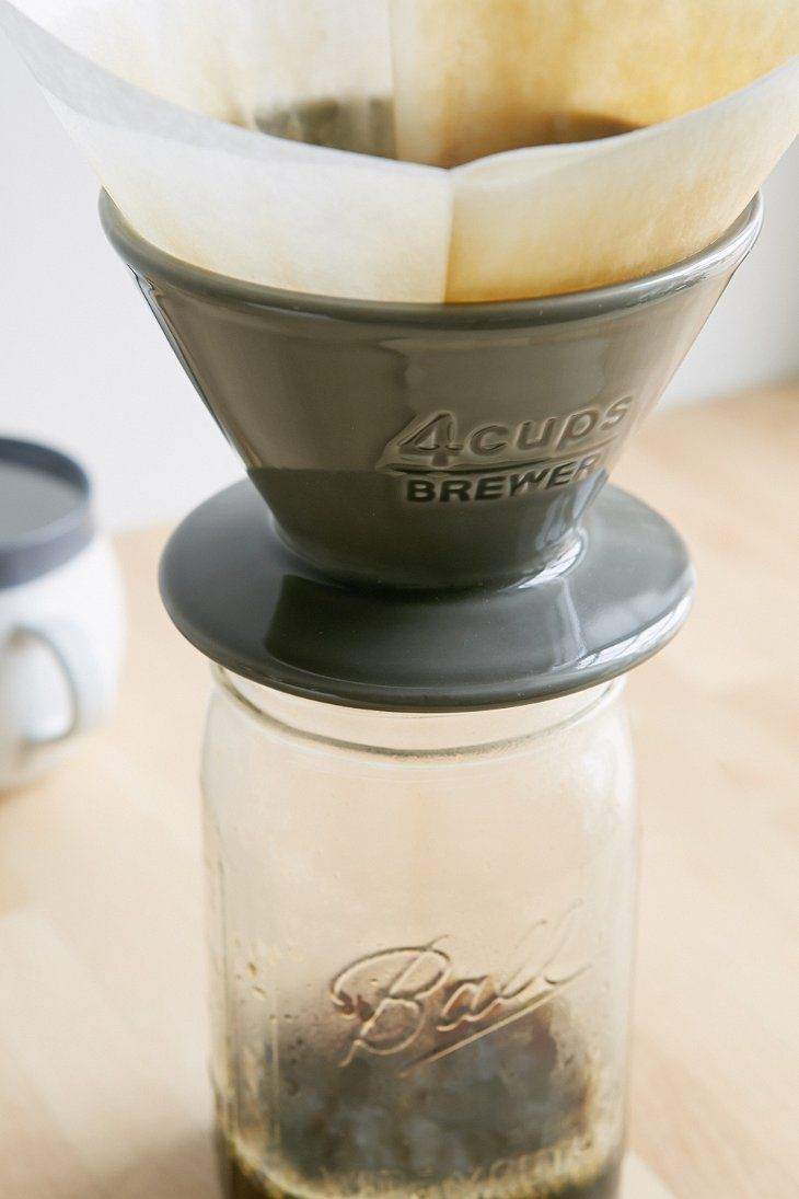 4-Cup Ceramic Pour-Over Coffee Maker - Urban Outfitters
