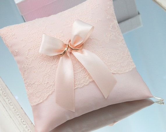 blush rose ring bearer pillow blush rose ring by INVITESTORE & 15 best Wedding Ring Bearer Pillows ETSY images on Pinterest ... pillowsntoast.com