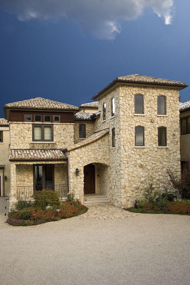 Sketch of Get Italian Appeal with These Attractive Tuscan-Style Homes
