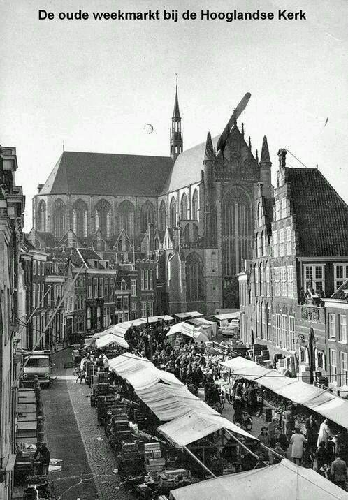 Oude weekmarkt.