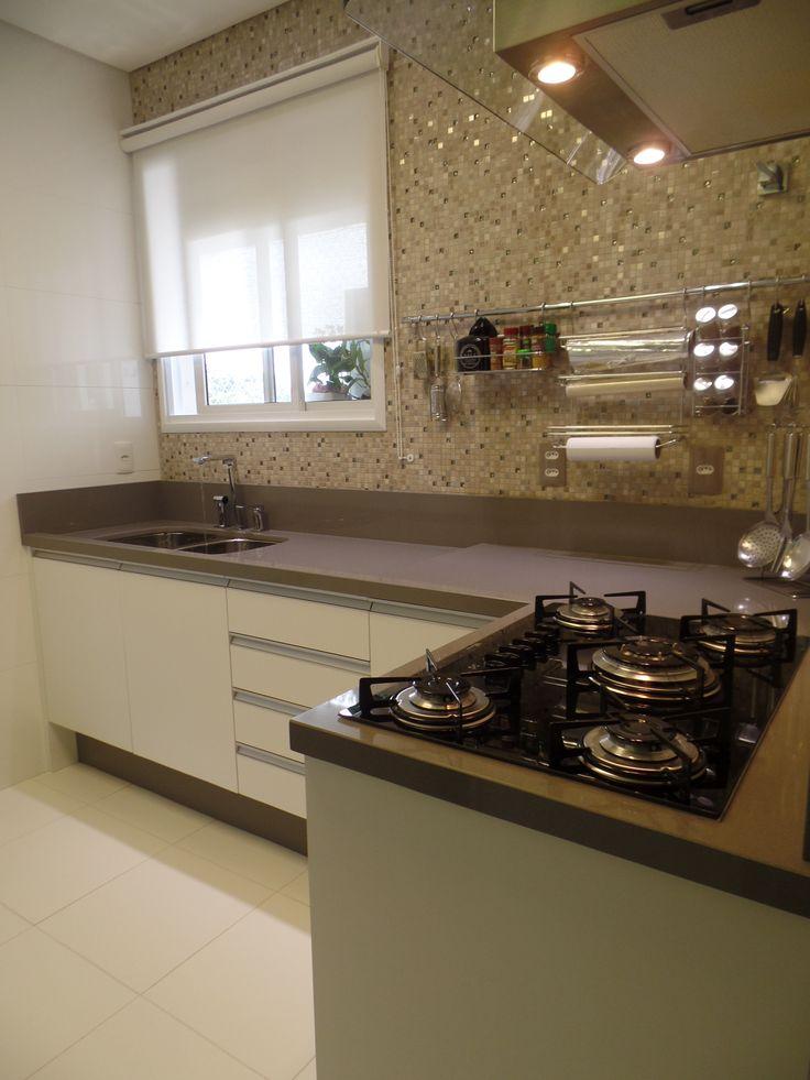 Bancada de Cozinha em Technistone Gobi Grey