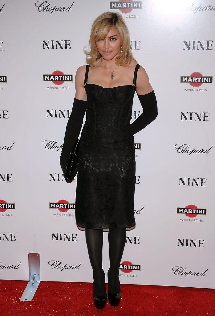 "Madonna Photos: Chopard Sponsors New York Premiere of ""NINE"" - Arrivals"