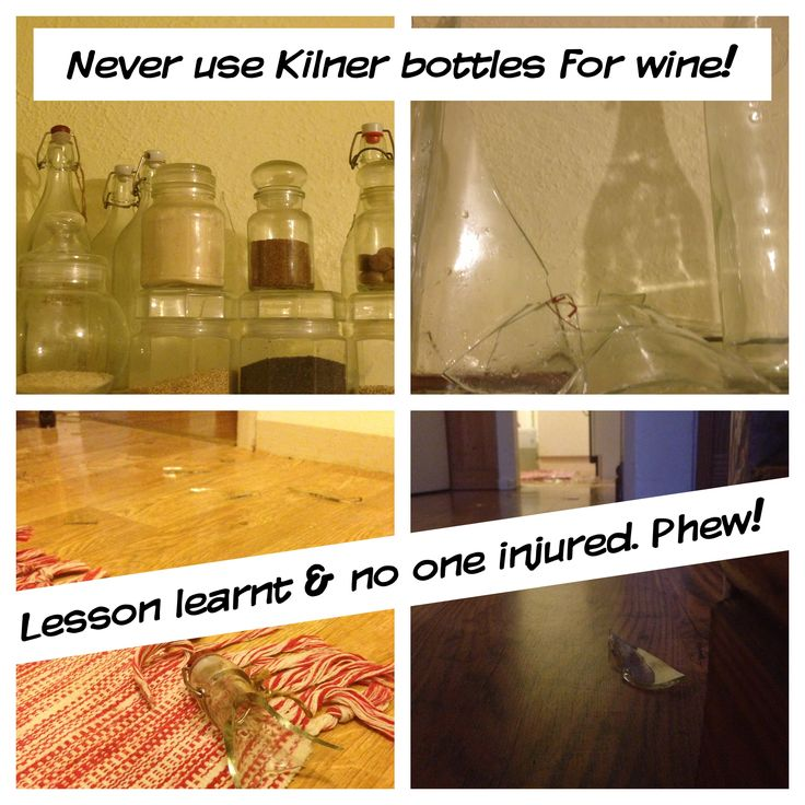 Exploding swing Kilner bottles x 2 at 4am this morning.  The bulging fizzy pop bottle of year old elderflower champagne was decanted into Kilner jars a week ago.   Fermentation was still very ongoing apparently.   Thank goodness no one was injured. The large glass shards travelled so far along the hall way. Please never ever use them. I am seriously only going to use the plain fizzy pop bottles from now on!