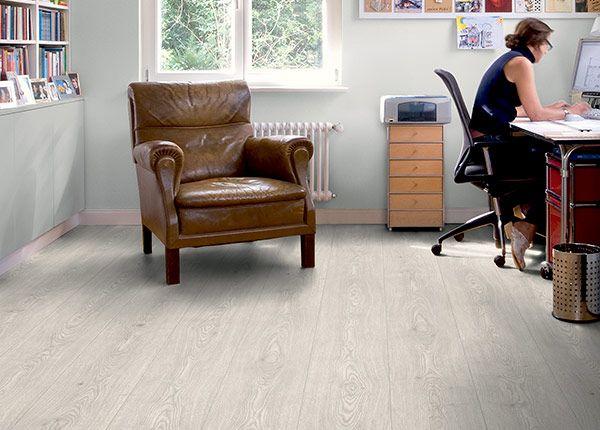 Godfrey Hirst Floors Laminate Belle  - Alpine Oak Ice Grey