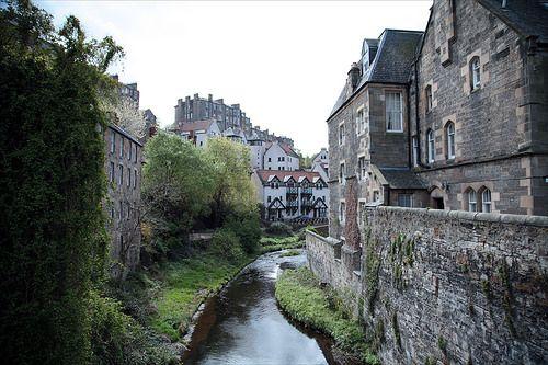 Dean Village, Эдинбург, Шотландия - Pocket Scotland