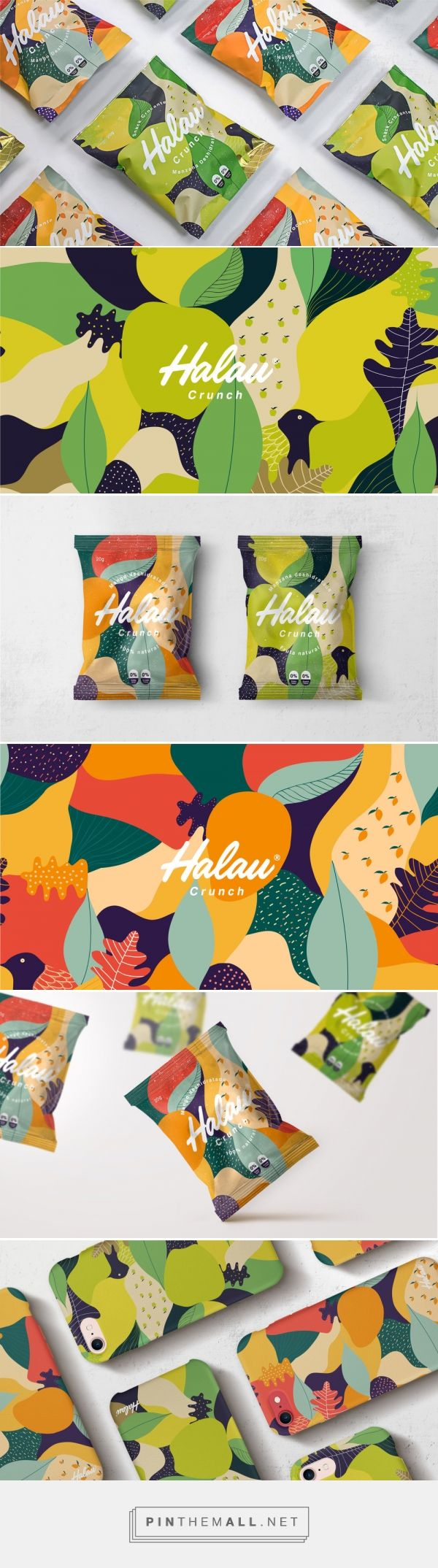 The Packaging for These Fruit Snacks Were Inspired By The Isles of Hawaii — The Dieline | Packaging & Branding Design & Innovation News - created via https://pinthemall.net